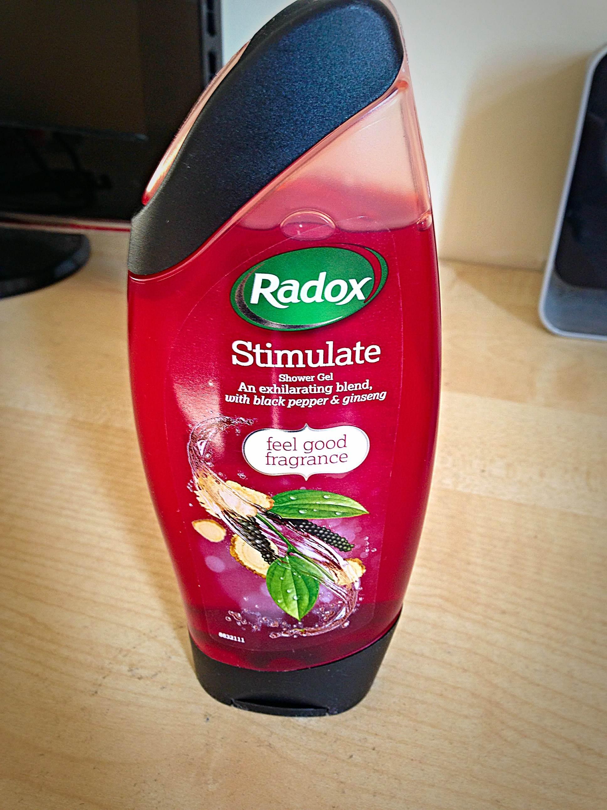 Radox Black Pepper & Ginseng Shower Gel