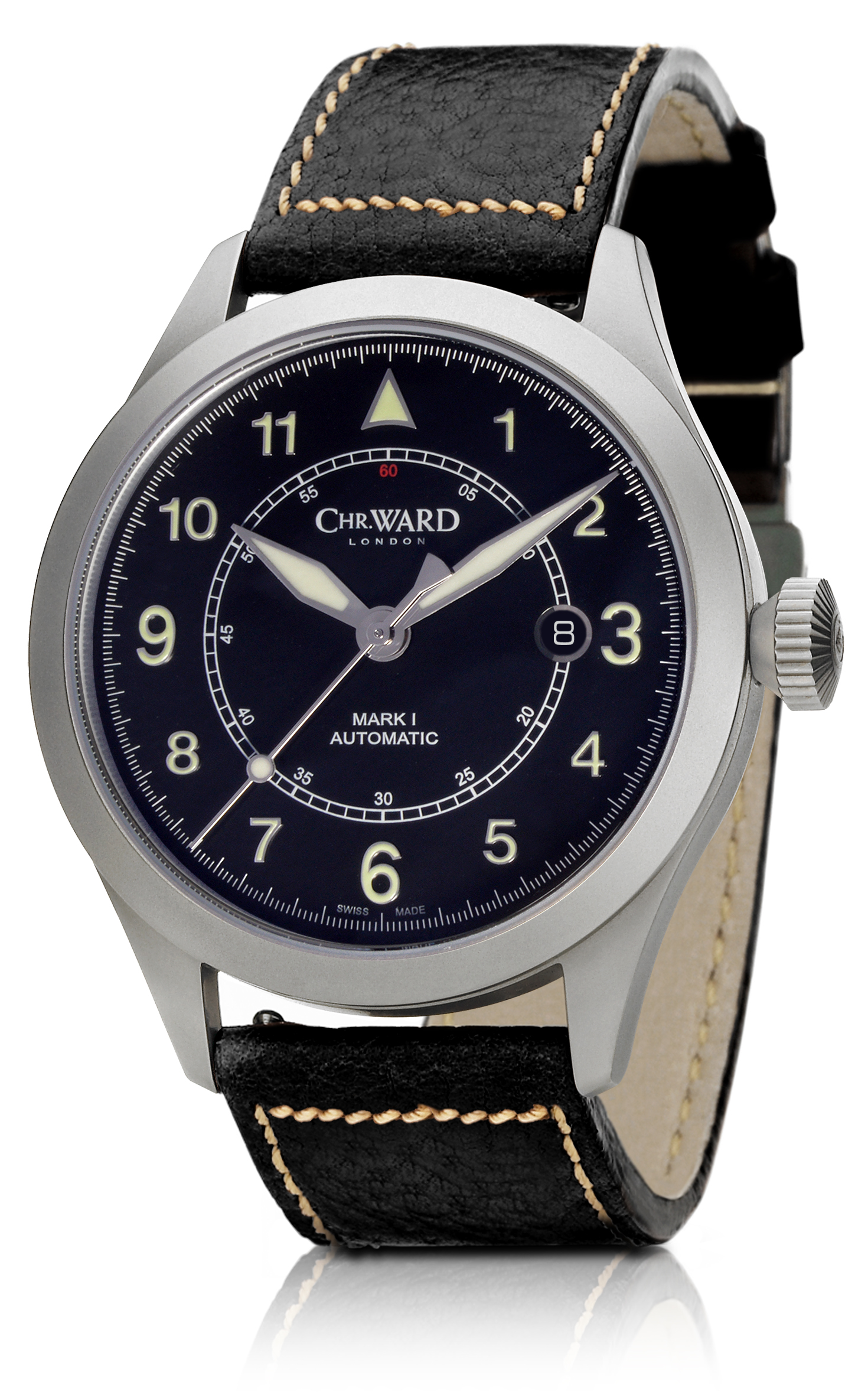 Christopher Ward C10 Aviator - Men's Watch Style