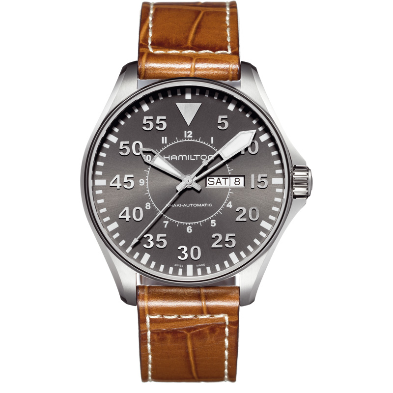 Men's Khaki Pilot 46mm Automatic Watch