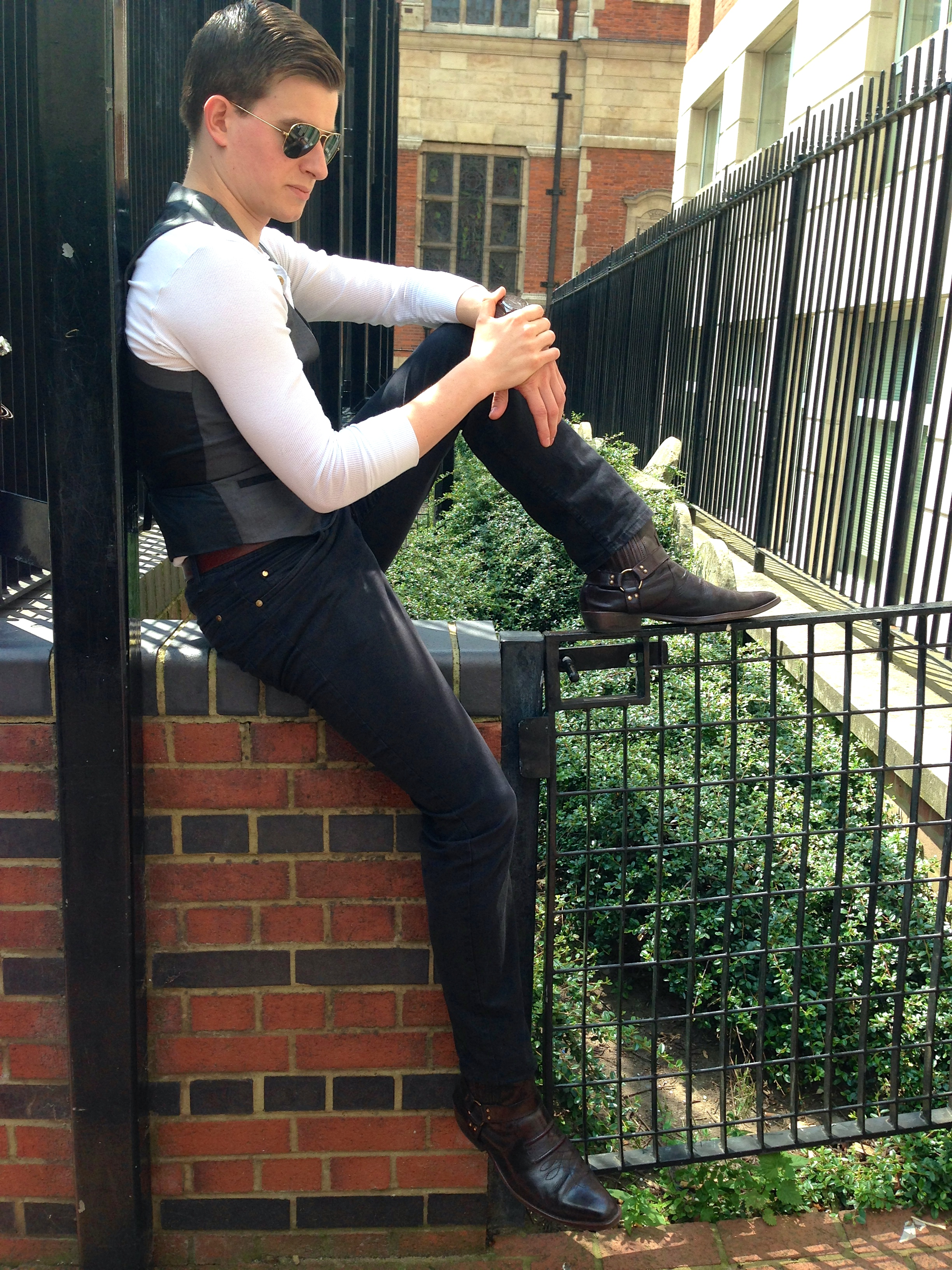 Gentleman's Fashion Casual Tailoring