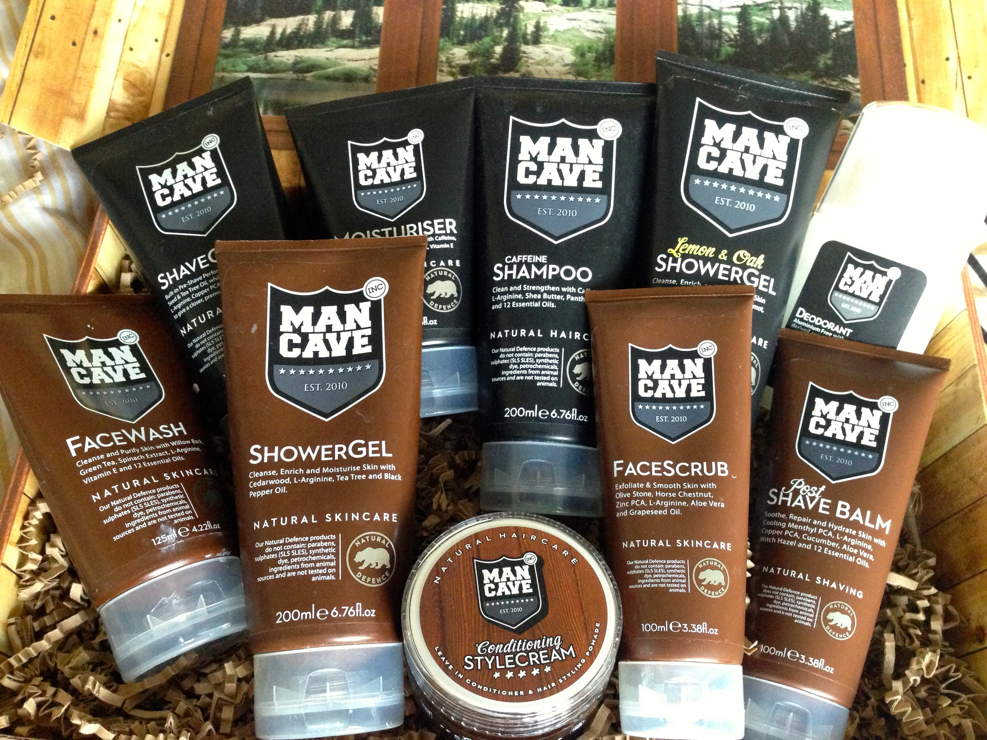 Man Cave Review : Review: the mancave grooming range male stylist
