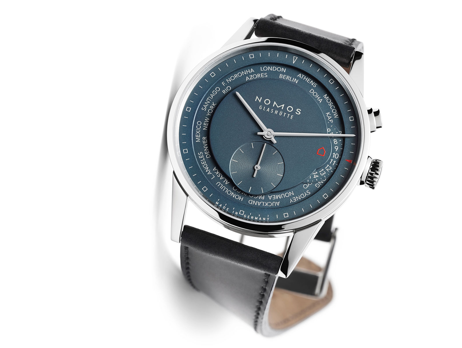 Nomos Zurich World Timer True Blue 2