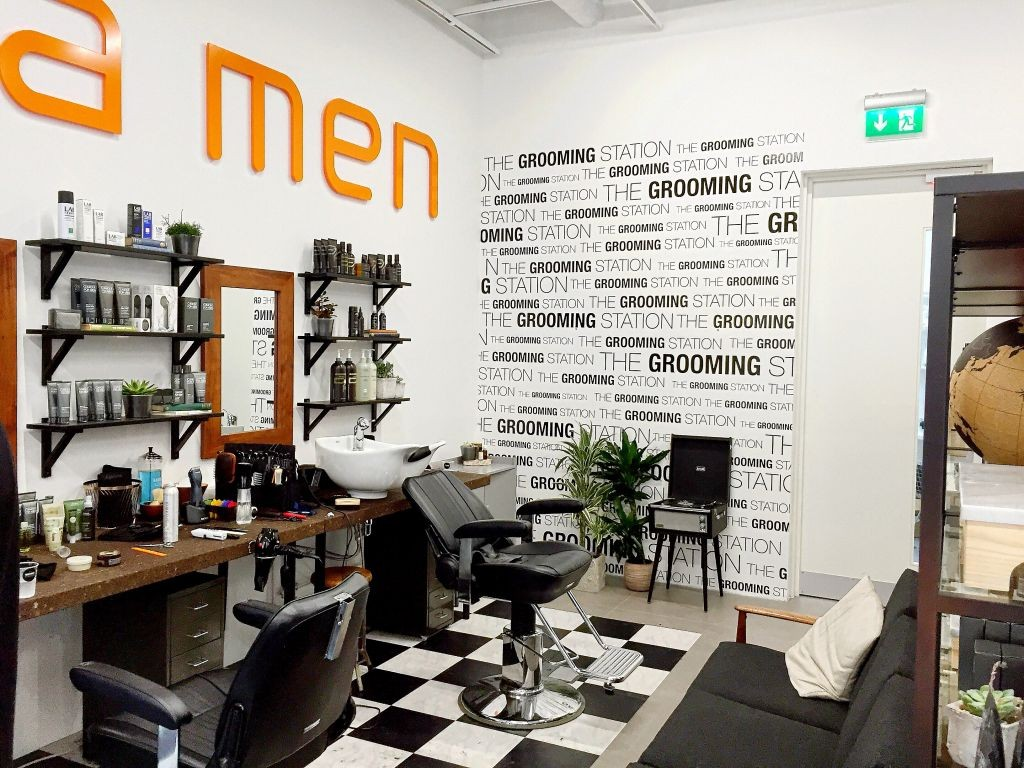 Men's Style: Aveda Grooming Salon