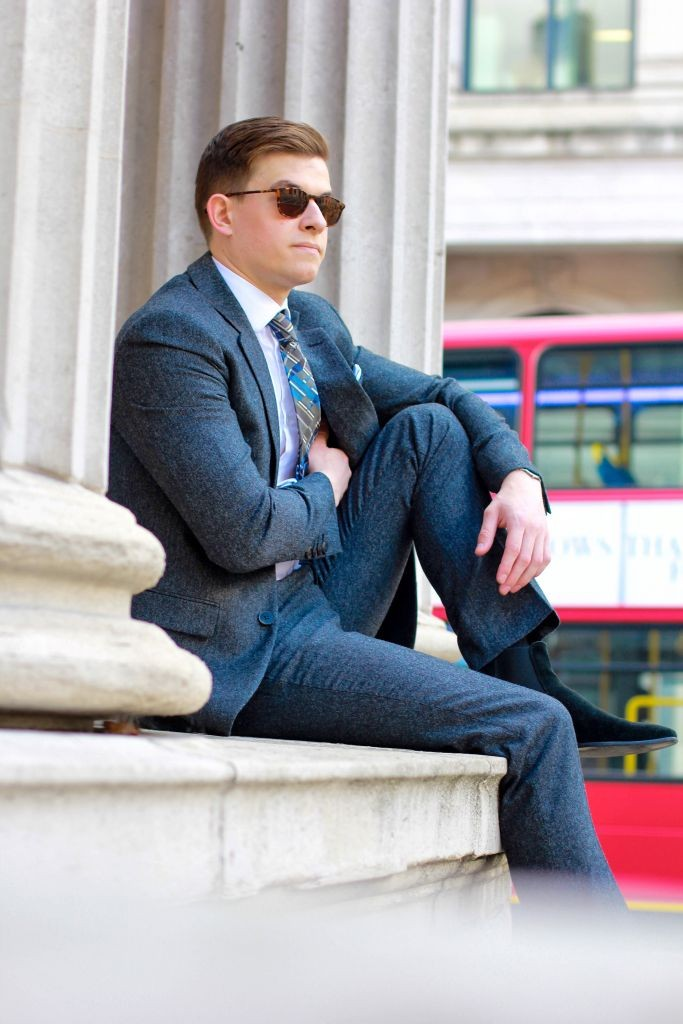 Jack Wills - Bloomsbury Suit Autumn Tailoring