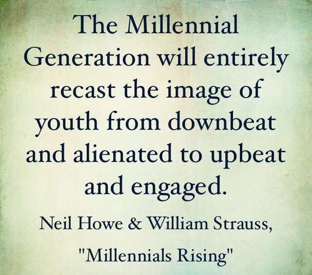 Proud to Be A Millennial