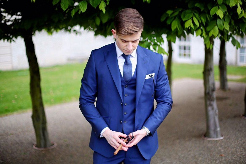 Wedding Suit: Hardy Amies - 6