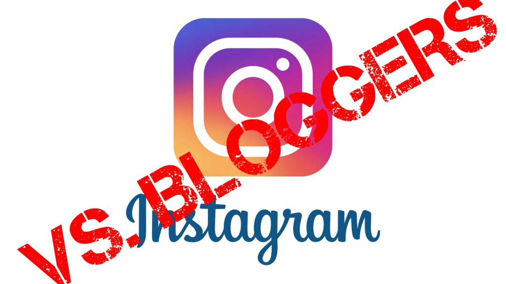 Instagram Breaking Blogging